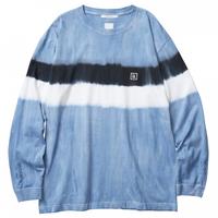 LIBERAIDERS - LR TYE DYE L/S TEE 71502 (ブルー)