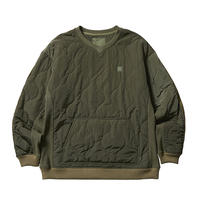 Liberaiders®︎ - LIBERAIDERS LR QUILTED PULLOVER (OLIVE)