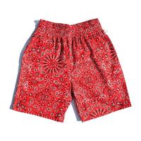 COOKMAN - Chef Short Pants 「Paisley」レッド