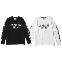 CAPTAINS HELM - #CHECKER L/S TEE