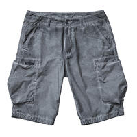 LIBERAIDERS - OVERDYED BDU SHORTS (BLACK)