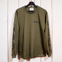 CAPTAINS HELM- TRADEMARK CITY L/S TEE (OLIVE)