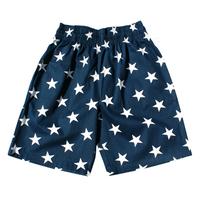COOKMAN - Chef Short Pants 「Star」 Navy