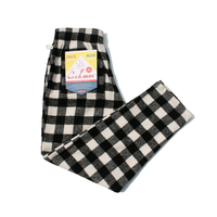 COOKMAN - Chef Pants 「Nel Buffalo Check」 White