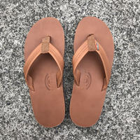 "RAINBOW SANDALS - Classic Leather ""Double Midsole"" (TTTN タン)"
