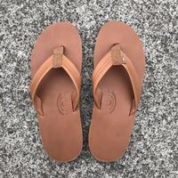 "RAINBOW SANDALS - Classic Leather ""Double Midsole"" (TTTN タン)"