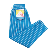 COOK WEAR - Chef Pants 「ストライプ」 ライトブルー