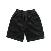 COOKMAN - Chef Short Pants 「Corduroy」Black