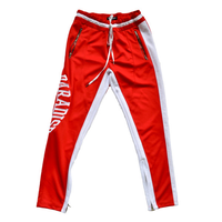 Renowned LA - Paradise Track Pants (Red)
