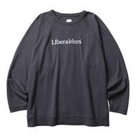 LIBERAIDERS - 2LAYER CREWNECK (CHACOAL)