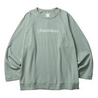 LIBERAIDERS - 2LAYER CREWNECK (SAGE)