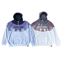 CAPTAINS HELM - #OVER-DYE LOGO HOODIE