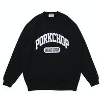PORKCHOP - COLLEGE SWEAT (BLACK)