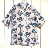 ChahChah - WA LOHA-SHIRTS - PINK (Hummingbird ×morning glory)