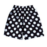 COOKMAN - Chef Short Pants 「Big dots」 Black