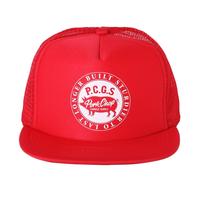 PORKCHOP - CIRCLE PORK CAP/RED