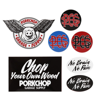 PORKCHOP - WING PORK STICKER SET
