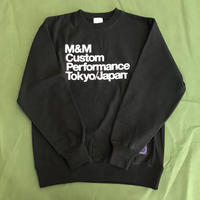 M&M - PRINT SWEAT (BLACK)