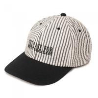 THE H.W. DOG & CO.  - SEERSUCKER CAP (ブラック/ベージュ)