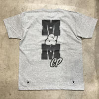M&M - PRINT S/S TEE 014 (GRAY)