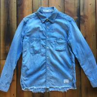 BLUE SAKURA -  DUNGAREE SHIRTS C/O