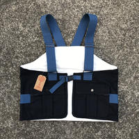 ROUND HOUSE - CANVAS FISHING VEST (ネイビー)