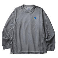 LIBERAIDERS - 3D SEAM CREWNECK (BLACK)