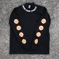 ChahChah - CANDY MOCKNECK L/S TEE (ブラック)