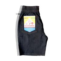 COOKMAN -Chef Short Pants「DENIM」 Black