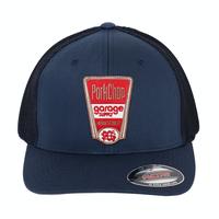 PORKCHOP - FINEST TRUCKER CAP (NAVY)