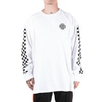 MintCrew -  Checkered L/S (ホワイト)