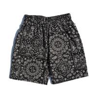 COOKMAN - Chef Short Pants 「Paisley」ブラック