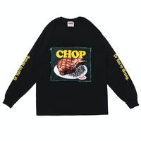 PORKCHOP - CHOP L/S TEE (BLACK)
