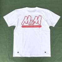 M&M - PRINT S/S T-SHIRT (WHITE)