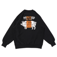 PORKCHOP - PORK BACK SWEAT (BLACK)