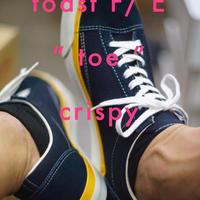 "toast FOOT & EYEWEAR GEAR - ""toe"" crispy (ネイビー)"