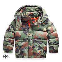 受注発注🇺🇸【95-130cm】Polo Ralph Lauren Bear Camo Down Jacket