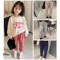 【80-140cm】Side Pocket Cotton Sweatpants サイドポケット コットンスウェットパンツ