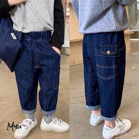 【80-130cm】JEANS ラフ ジーンズ
