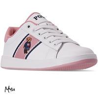 受注発注【18〜22cm】Polo Ralph Lauren Quilton bear casual sneakers