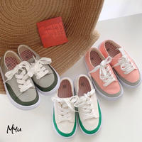 【14-19cm】2Color Roll Up Sneaker 2カラー ロールアップスニーカー