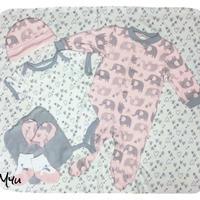 即納🇺🇸【60-70cm】Baby set