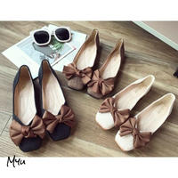 受注発注【Mom】Ribbon flat shose