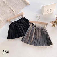 【80〜140cm】Pleats Skirt プリーツスカート