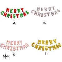 受注発注🇺🇸Letter Merry Christmas Balloon