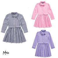 受注発注【95〜110cm】Polo Ralph Lauren Bengal stripe dress