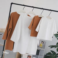 即納【親子 Mom】Simple tunic