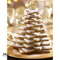 受注発注🇺🇸Christmas Star Baking Mold 6pcs クリスマススター 型抜き 6個セット