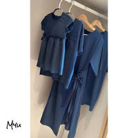 受注発注【Mom】Simple casual dress