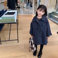【90-150cm】COAT ステンカラーウールコート